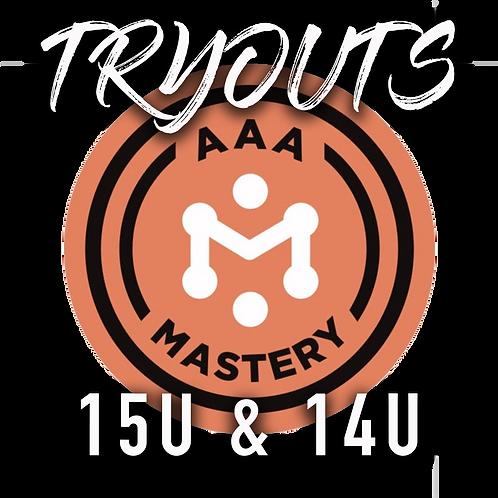 2021-22 Tryout Registration: Omaha Mastery AAA 15U & 14U