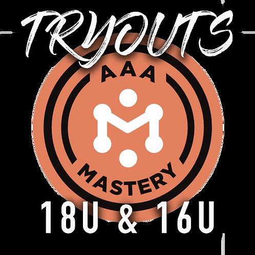 2021-22 Tryout Registration: Omaha Mastery AAA 18U & 16U