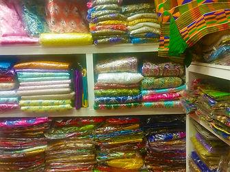 Multi-Coloured Fabric Rolls (1)