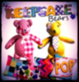 Keepsake Bears square flash/advertising