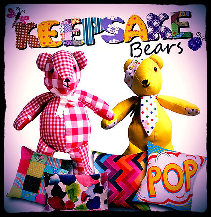 Keepsake Bears square flash/advertising