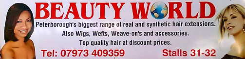 Beauty World Advertising Banner