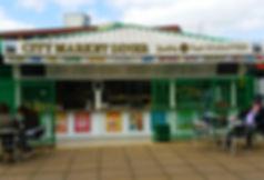 City Market Diner Front