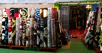 World Rugs stall front