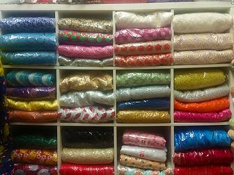 Multi-Coloured Fabric Rolls (2)