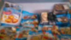 Frozen fish products