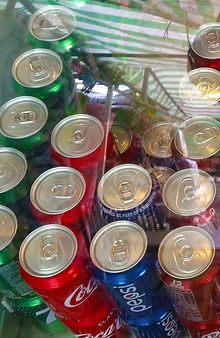 Canned Drinks and Bottled Water