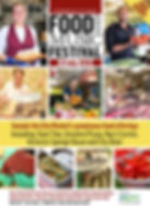 July Food and Music Poster