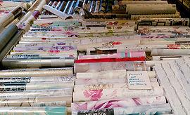 Wallpaper rolls - varied