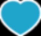 Peterborough Market Blue Heart