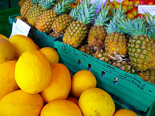 Melons and Pinapples