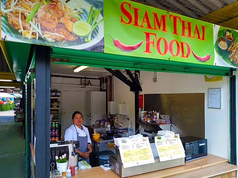 Siam Thai owner and store front