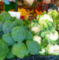 Broccoli and Cauliflowers