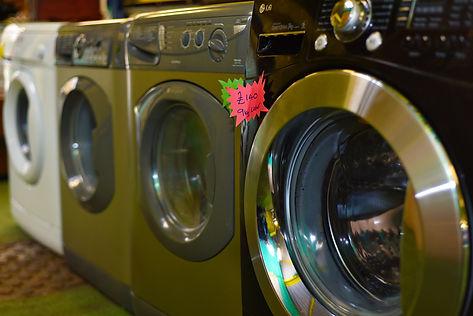 second-hand washing machines