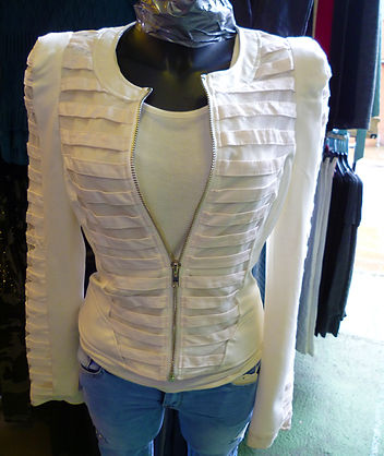 White short jacket