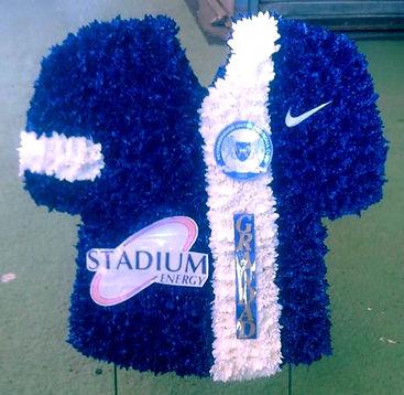 Football shirt wreath