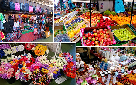 Market Stall Collage