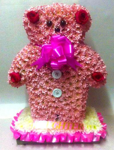 Teddy bear wreath