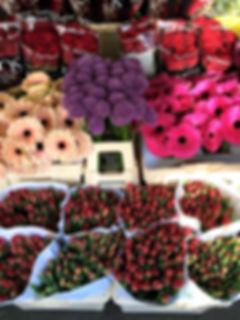 Various flowers