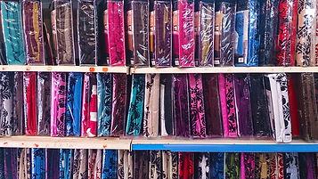 Bedding packs on racks
