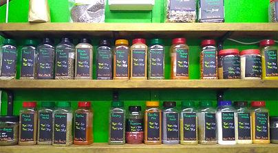Jars of Ingredients
