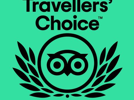 The Private Hill Wins 2021 Tripadvisor Travelers' Choice Award