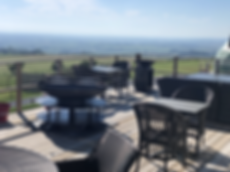 Fire Pit, BBQ, and views from Jane's Dom