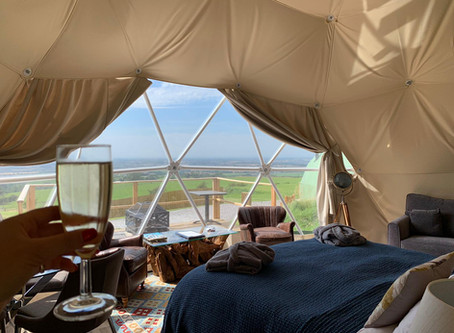 Glamping in England should be able to re-open from July 4th!