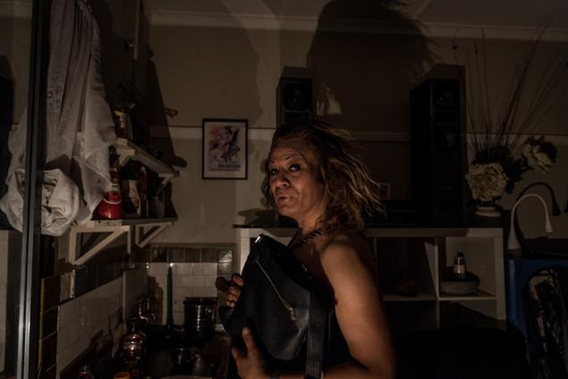 Charleze, 50 ans, 2 ans au Gatwick. Elle a fait de l'endroit son «home sweet home». Elle a trouvé un appartement proche de Saint Kilda juste avant la fermeture.   Janvier 2016.