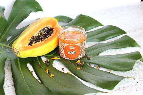 Jar of papaya jam for your toast