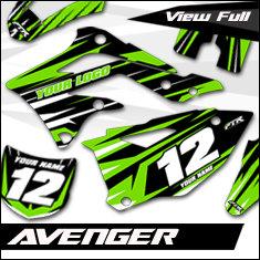 Avenger - Bike Graphic Kit