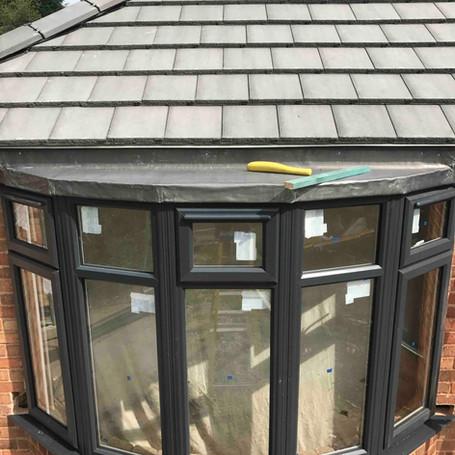 Bay Windows /Porches Tile & Lead Work