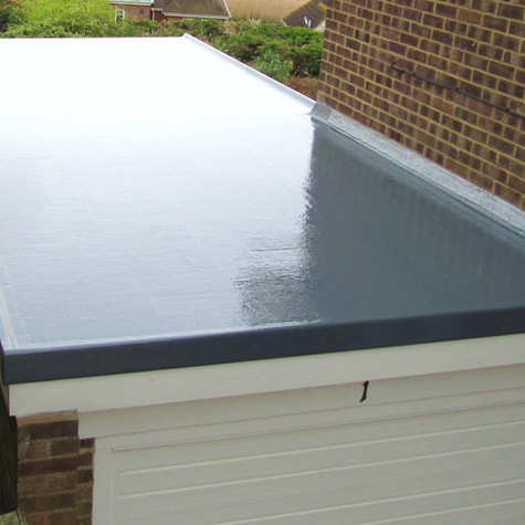 Glass-Fibre Roof Replacement