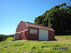 Barn included