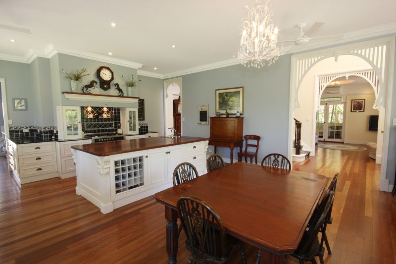 French inspired kitchen at 646 Cooth