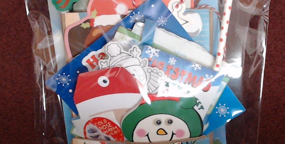 Design #3 Christmas Eve Santa Gift Bag - 3 of 10!