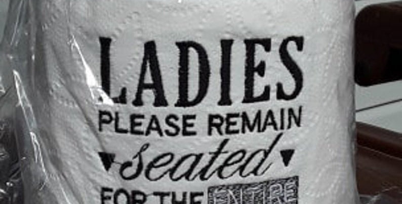 Ladies, Remain Seated...