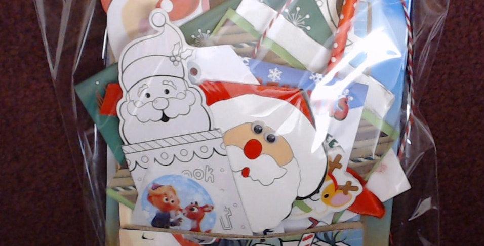 Design #5 Christmas Eve Santa Gift Bag - 5 of 10!