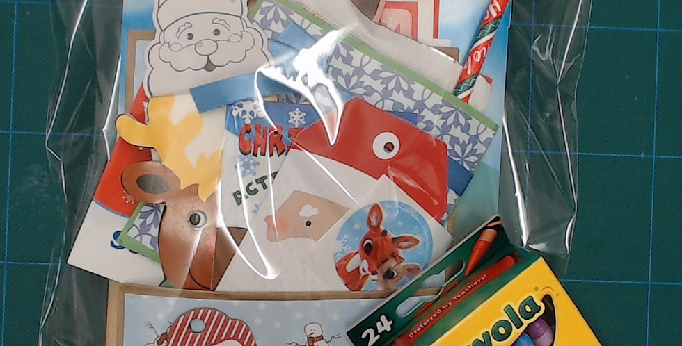 Santa Gift Bags - Stocking Stuffers - Secret Santa!