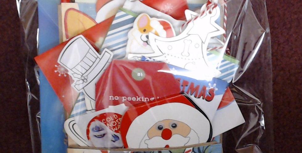 Design #9 Christmas Eve Santa Gift Bag - 9 of 10!