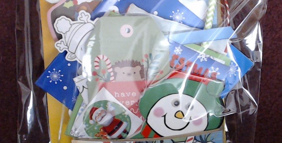 Design #8 Christmas Eve Santa Gift Bag - 8 of 10!