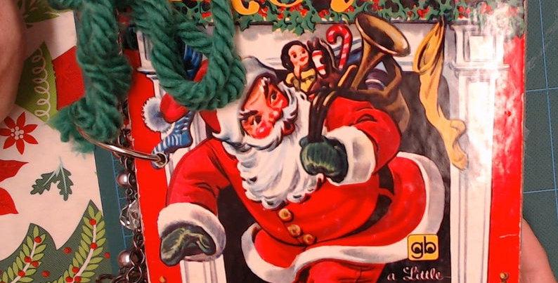 Little Golden Book Night Before Christmas Junk Journal