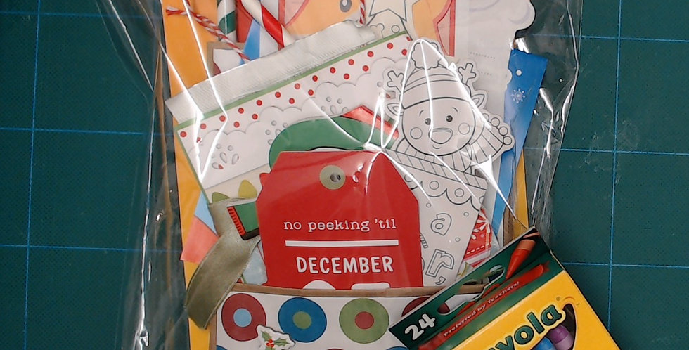 Gift Bags For Kids -Dear Santa Letter & More!