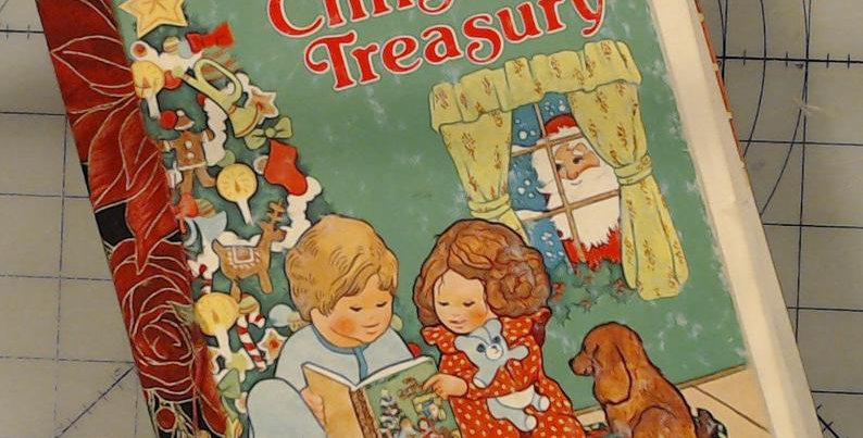 Little Golden Book Christmas Treasury Junk Journal