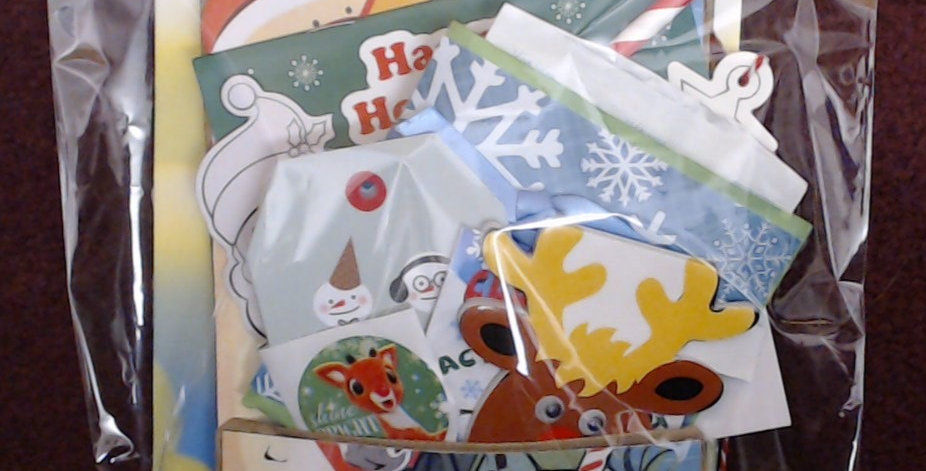 Design #6 Christmas Eve Santa Gift Bag - 6 of 10!
