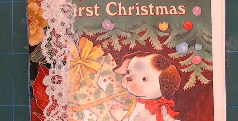 Little Golden Book Poky Puppy 1st Christmas Junk Journal