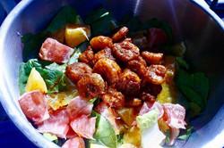 Spicy Shrimp & Citrus Salad