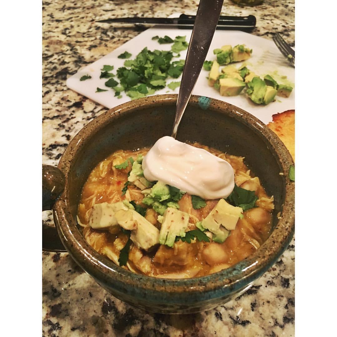 Spicy Lentil & Chickpea Chicken Stew