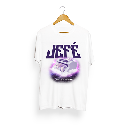 White - Purple Filled Jefe