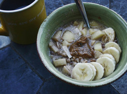 Apple Nut Hot Cereal